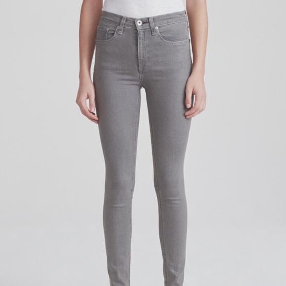 rag & bone Denim - rag & bone Coated Rin High Rise Jeans NWT